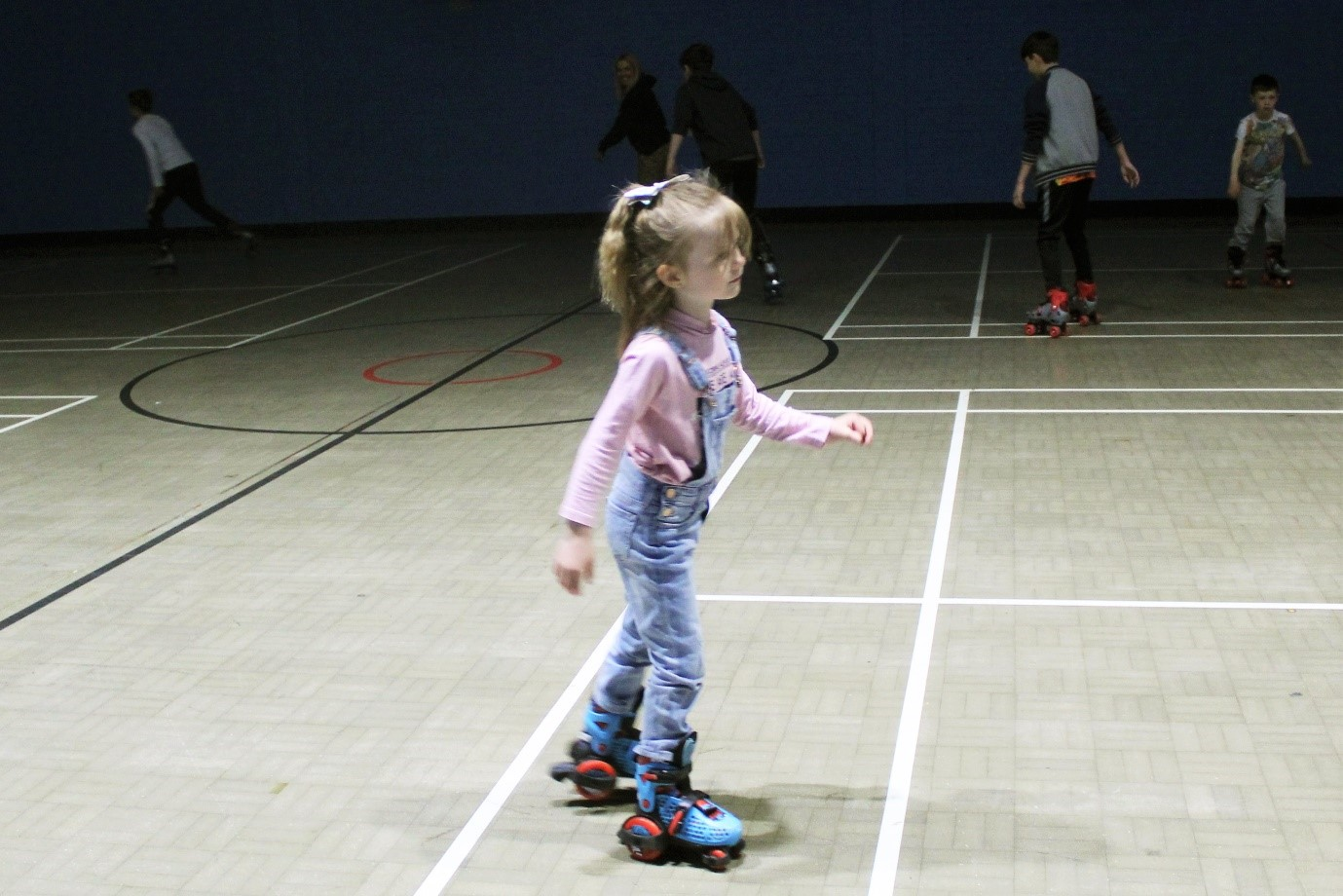 roller skating at The Adrenaline centre in Rossendale Adrenaline Valley
