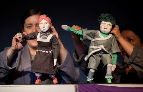 Puppets at The Boo for page exploring culture in Rossendale for visit Rossendale Website