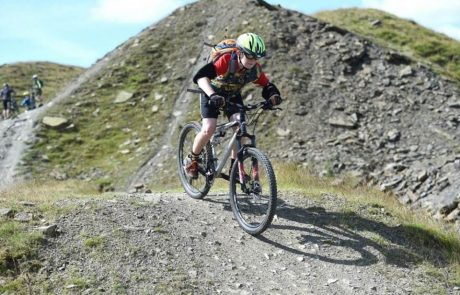 Image of boy on a mountain bike for Lee Quarry Trial Centre page on Visit Rossendale website